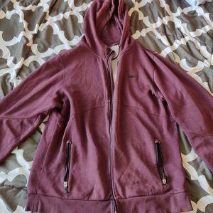 Nike 6.0 zip hoodie burgundy merlot